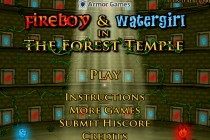 Fireboy & Watergirl 1 - The Forest Temple