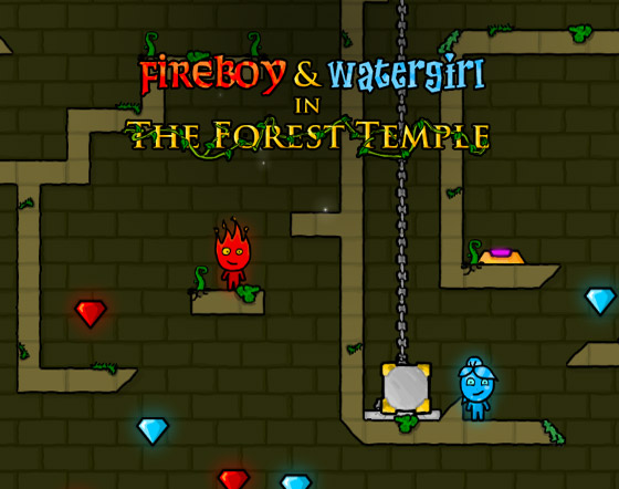 Fuego y Agua 1 - The Forest Temple