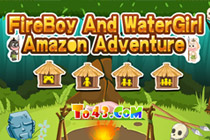 Fireboy i Watergirl Amazon Adventure