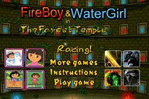 Fireboy and Watergirl Racing